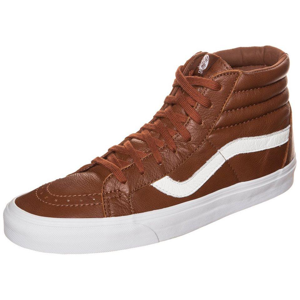 VANS Sk8-Hi Reissue Sneaker in braun / weiß