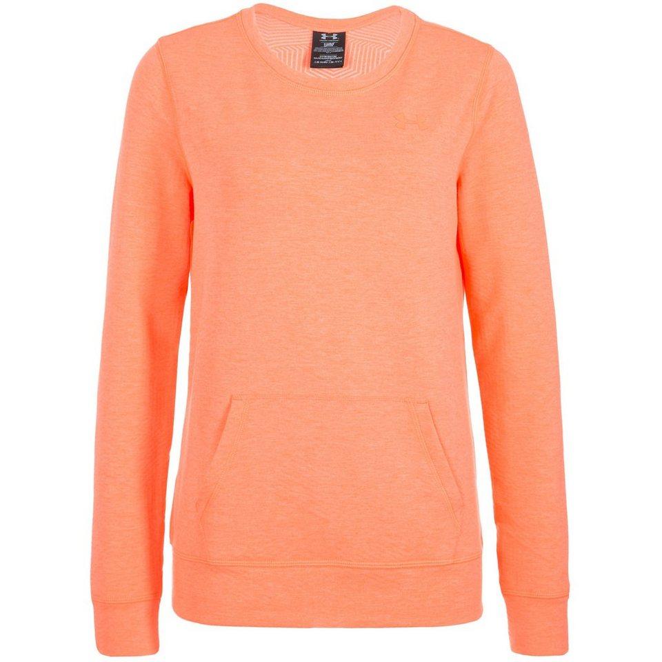 Under Armour® ColdGear Cozy Trainingsshirt Damen in orange