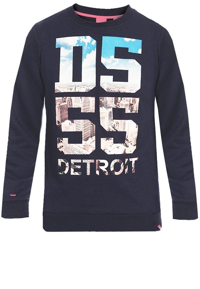 D555 Sweater in Marineblau