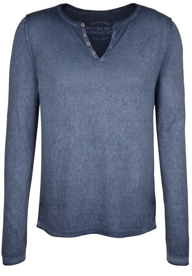 Better Rich Strickpullover »SERAFINO« in iris blue