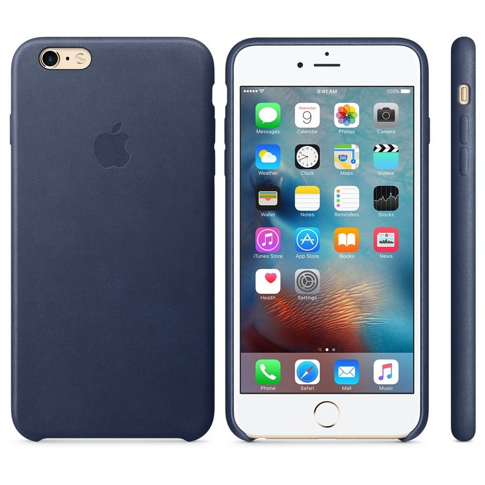 Apple Case »iPhone 6s Plus Leder Case Mitternachtsblau«
