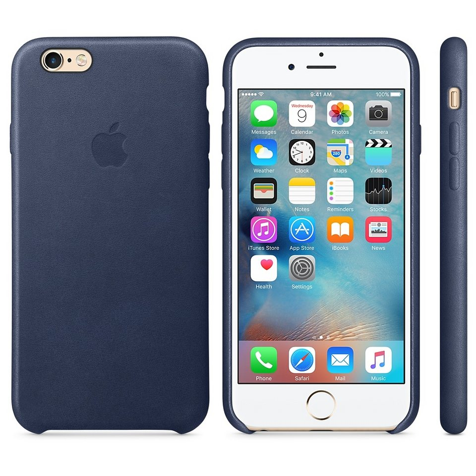 apple case iphone 6s leder case blau kaufen otto. Black Bedroom Furniture Sets. Home Design Ideas