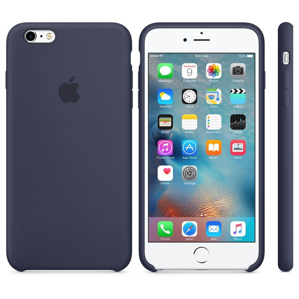 Apple Case »iPhone 6s Plus Silikon Case Blau«