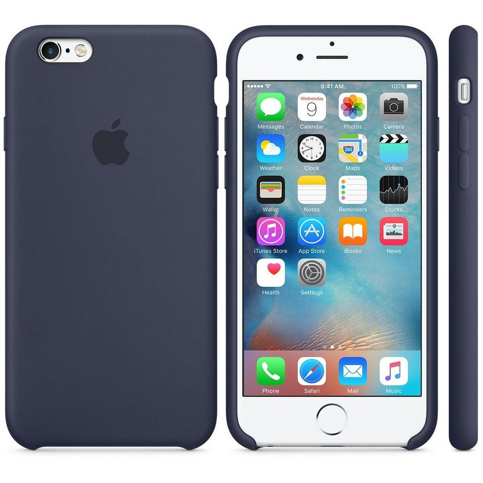 Apple Case »iPhone 6S Silikon Case Blau«