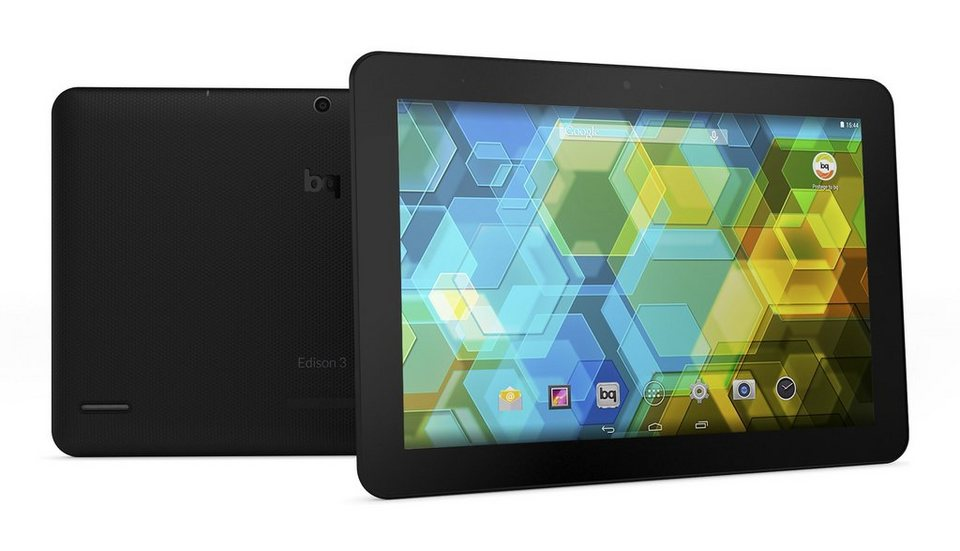 bq Android Tablet »Edison 3 10.1 WiFi 16+2 GB« in schwarz