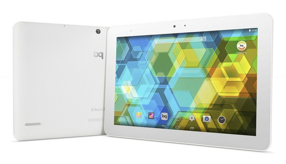 bq Android Tablet »Edison 3 10.1 WiFi 16+1 GB« in weiss