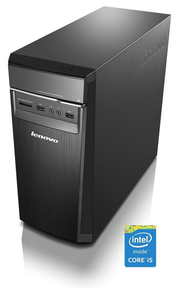 LENOVO IdeaCentre H50-50 Desktop-PC »Intel Core i5, Nvidia GTX 750Ti, 1TB+8GB, 8GB« in schwarz