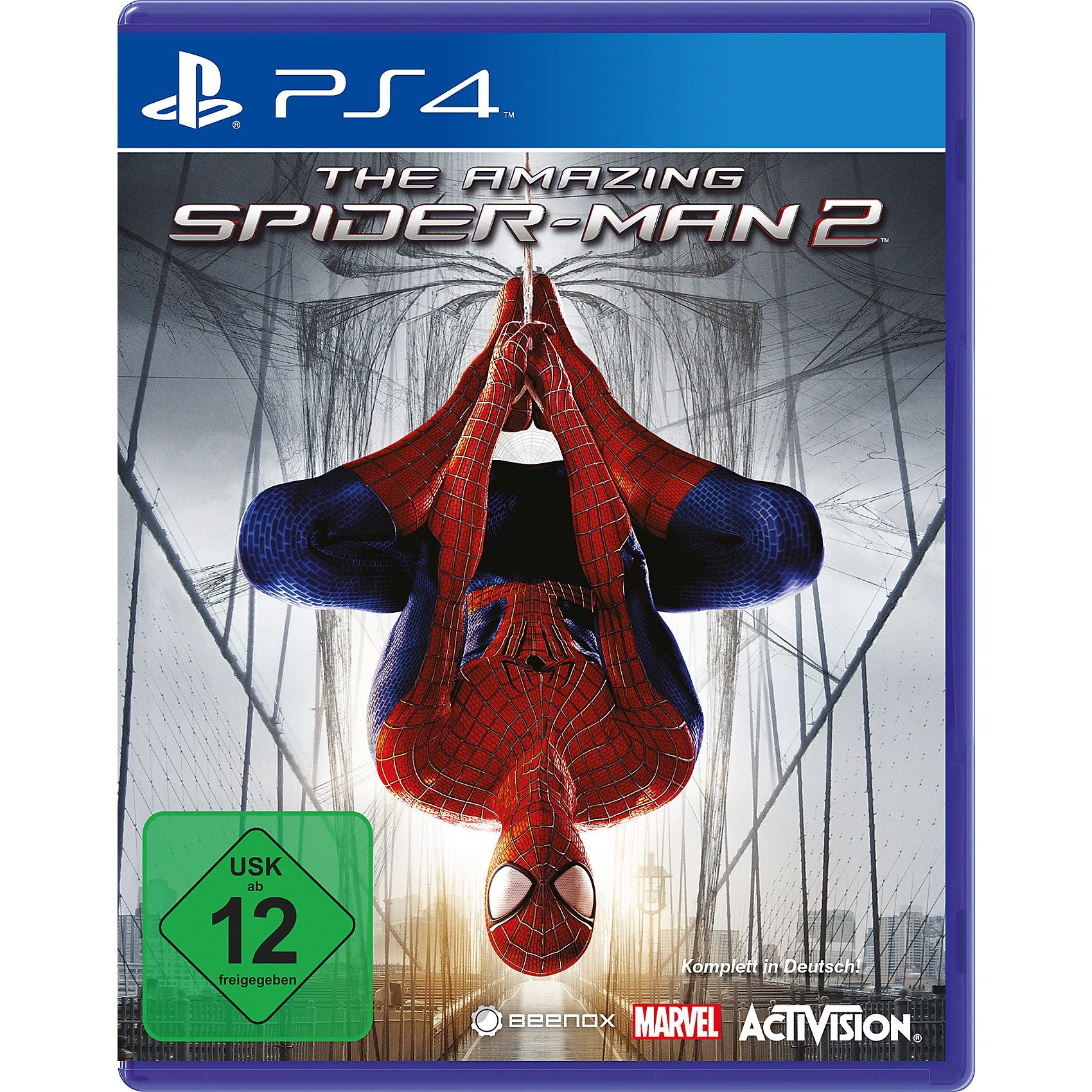 ak tronic PS4 The Amazing Spider-Man 2