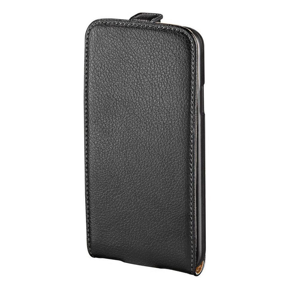 Hama Leder Hülle für Apple iPhone 6s Handytasche Tasche »Handy Schutzhülle Flip Case« in Schwarz