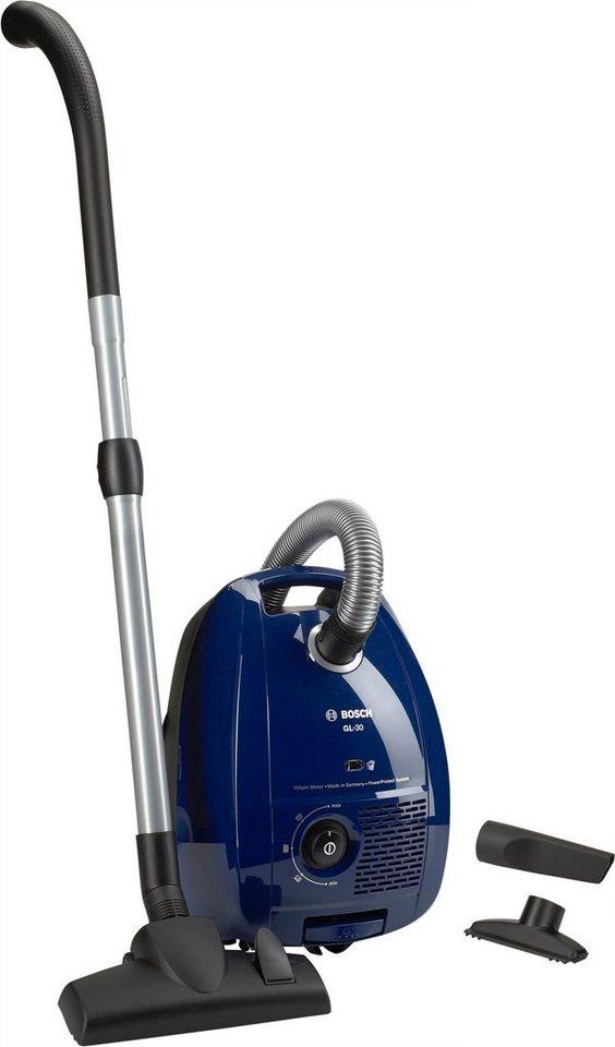 Bosch Bodenstaubsauger BGL3B110, mit Beutel, Energieeffizienzklasse B in nordkapblau-metallic
