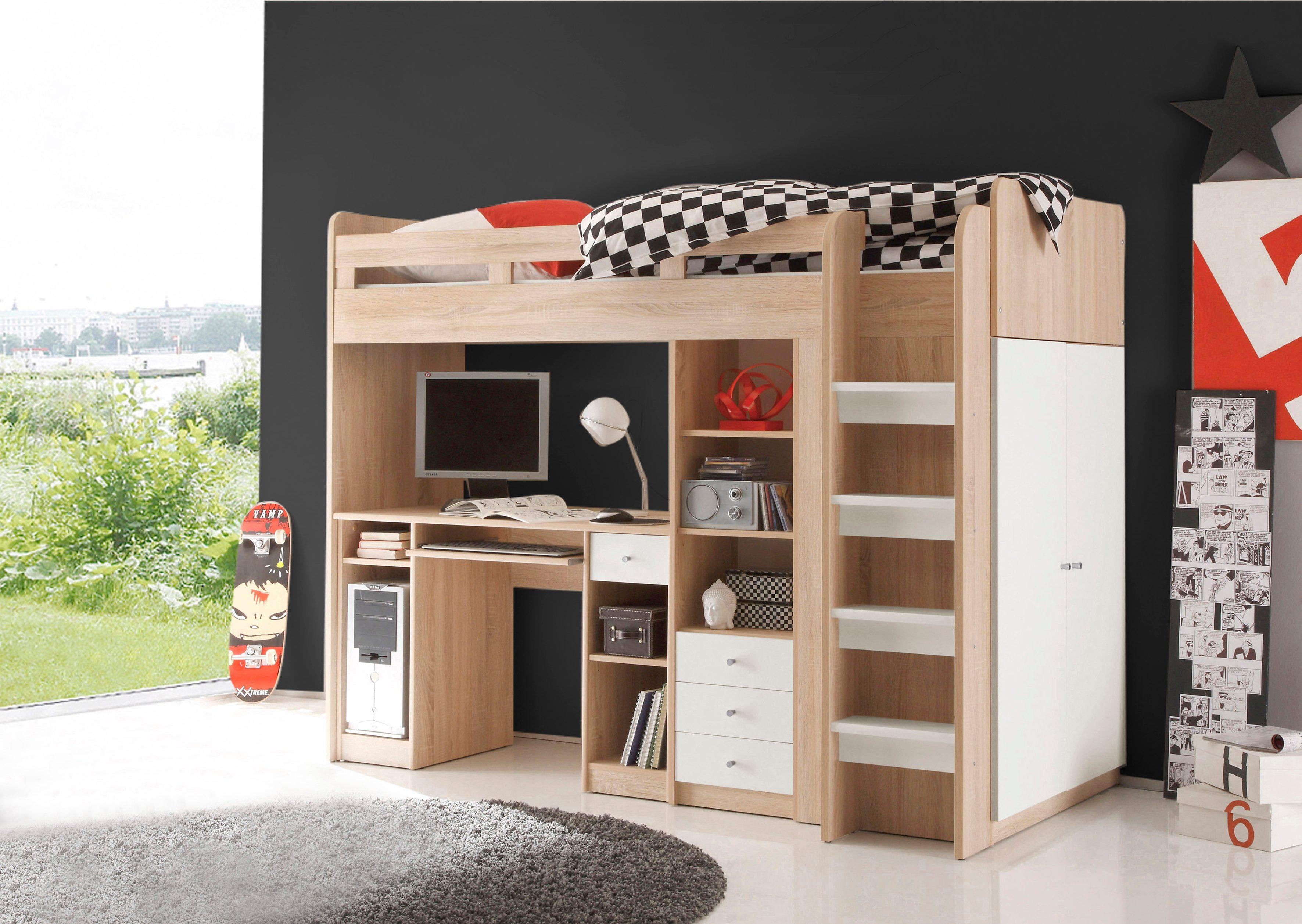 Kinder Etagenbett Mit Schrank : Hochbett online kaufen mit treppe otto