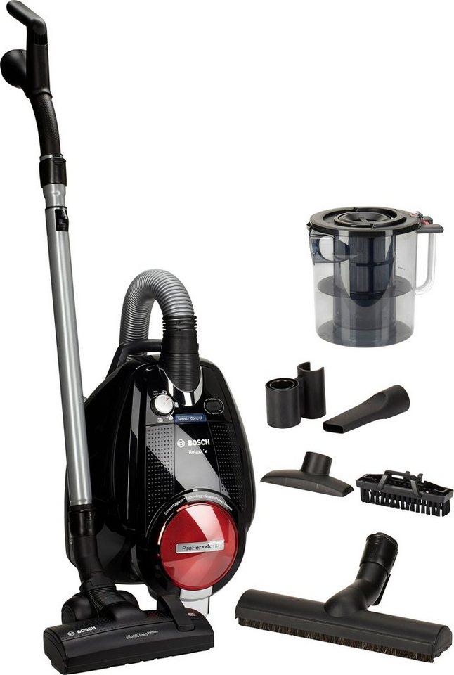 Bosch Bodenstaubsauger Relaxx'x ProPerform BGS5POWER1, beutellos, 700 Watt in schwarz