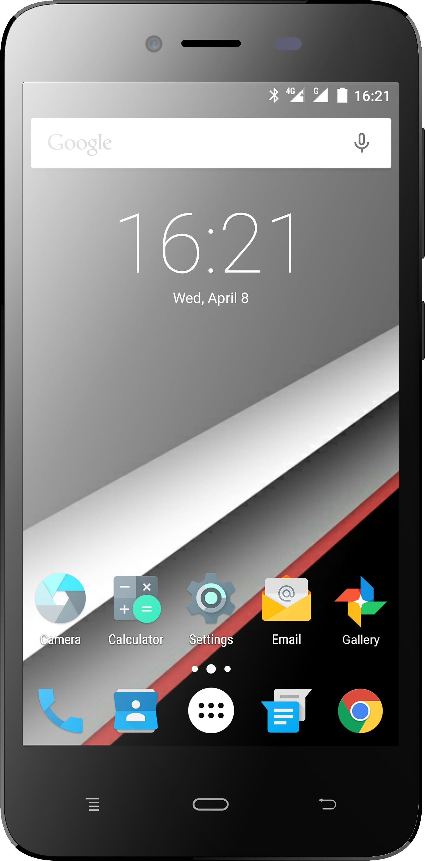 Phicomm Energy L Smartphone, 12,7 cm (5 Zoll) Display, LTE (4G), Android 5.1 Lollipop, 8,0 Megapixel