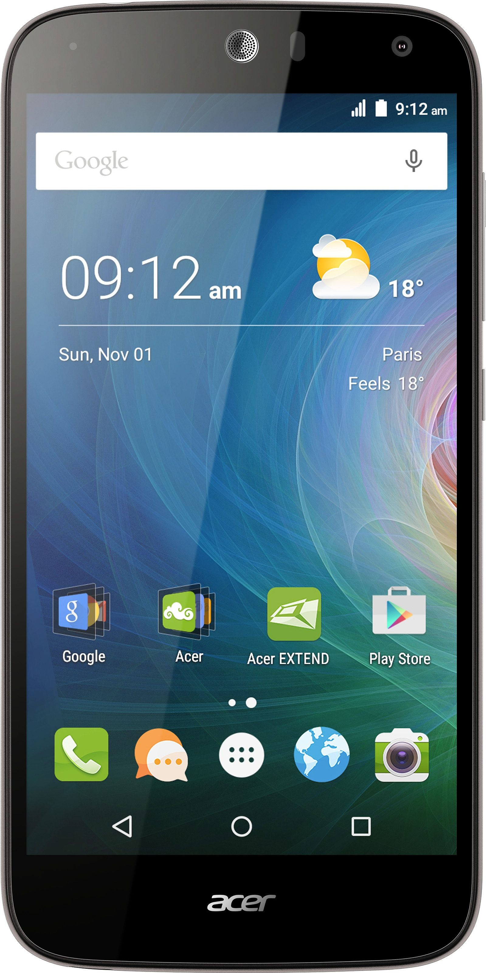 Acer Liquid Z630 Smartphone, 14 cm (5,5 Zoll) Display, LTE (4G), Android 5.1 Lollipop, 8,0 Megapixel