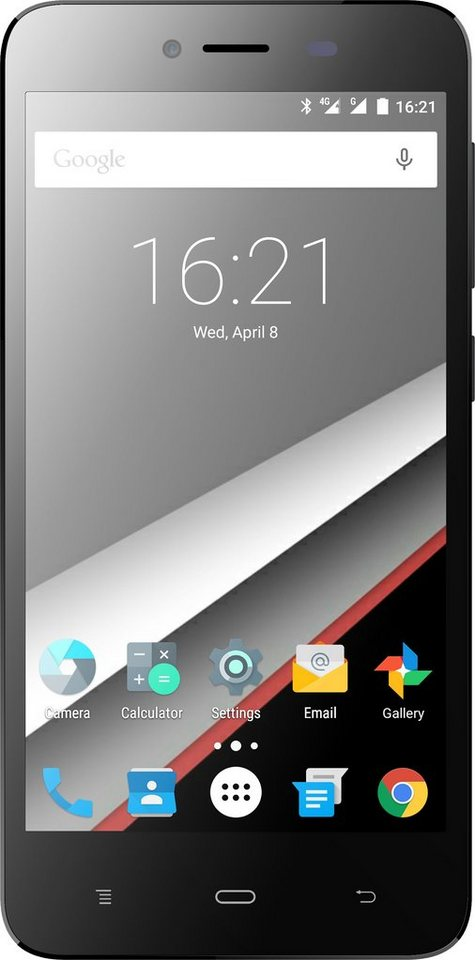 Phicomm Energy L Smartphone, 12,7 cm (5 Zoll) Display, LTE (4G), Android 5.1 Lollipop, 8,0 Megapixel in weiß