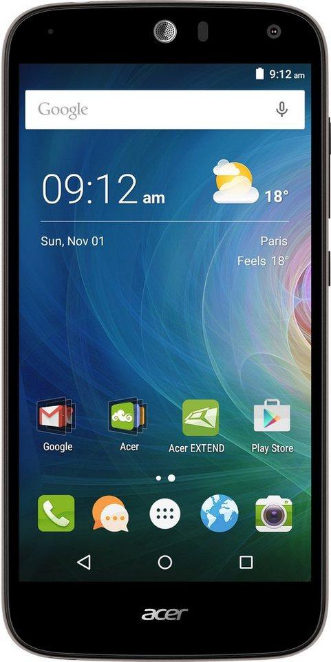 Acer Liquid Z630 Smartphone, 14 cm (5,5 Zoll) Display, LTE (4G), Android 5.1 Lollipop, 8,0 Megapixel in schwarz