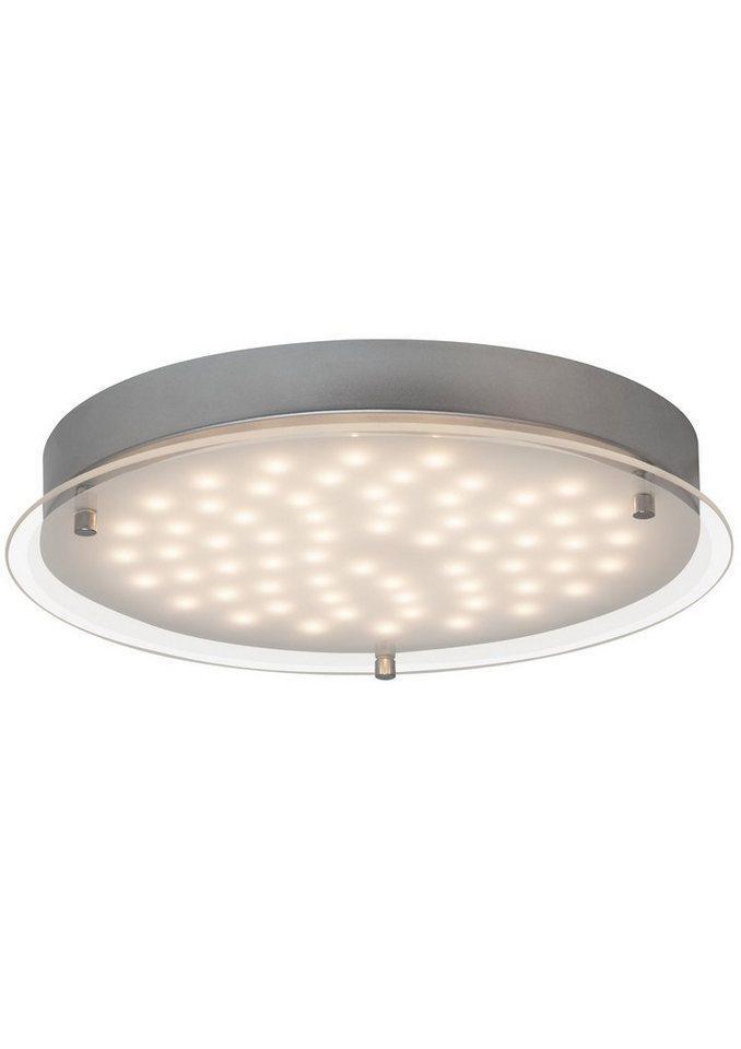 Brilliant Deckenleuchte, inkl. LED-Leuchtmittel in chromfarben, weiß-transparent