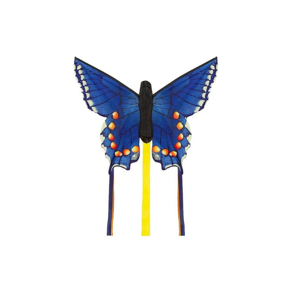 "HQ Butterfly Kite Swallowtail Blue ""R"" in bunt"