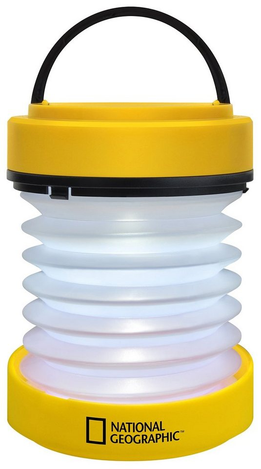 BRESSER Laterne »NATIONAL GEOGRAPHIC LED-Laterne (batteriebetrieben«