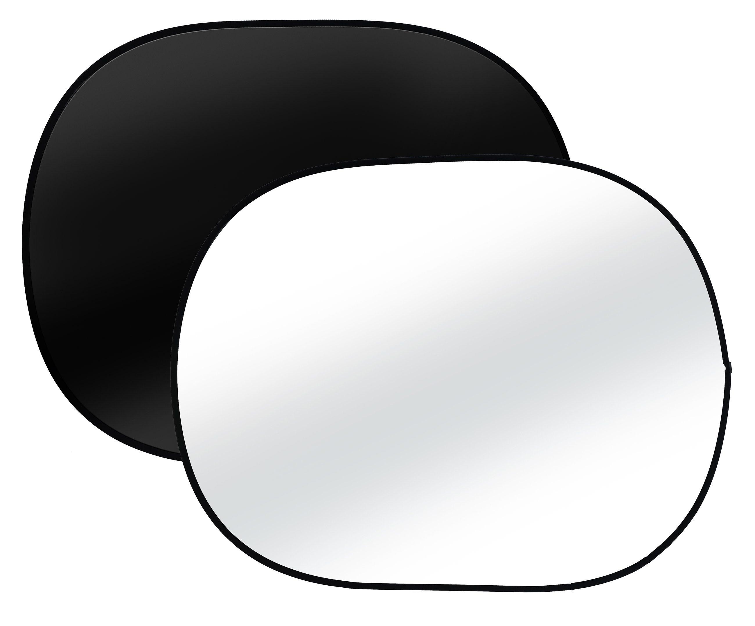 BRESSER Fotostudio »BRESSER BR-3 Hintergrund schwarz/weiß 150x200cm«