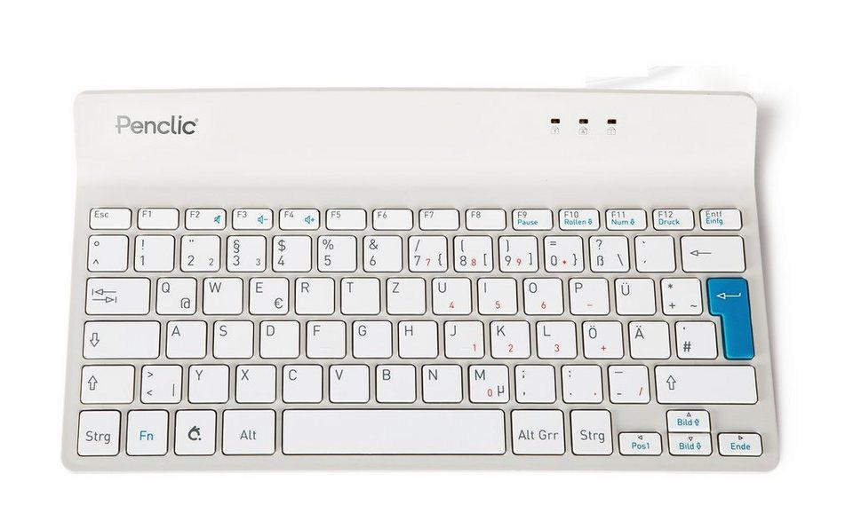PENCLIC Mini Keyboard »C2 USB weiß«