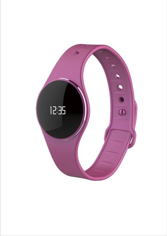 MYKRONOZ Fitnessband »ZeCircle Tracker Uhr pink«