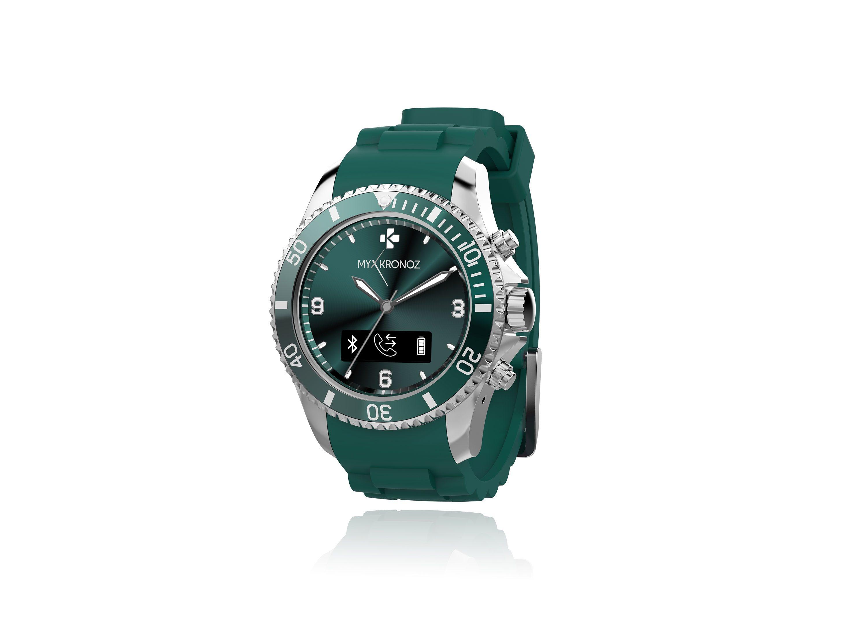 MYKRONOZ Smartwatch »ZeClock grün«