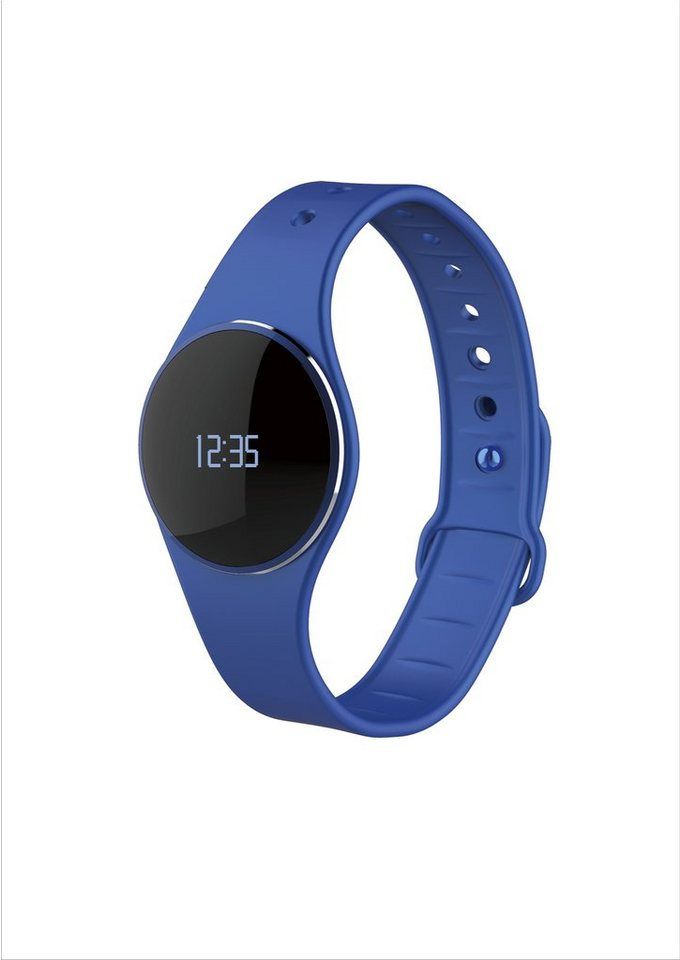 MYKRONOZ Fitnessband »ZeCircle Tracker Uhr blau«