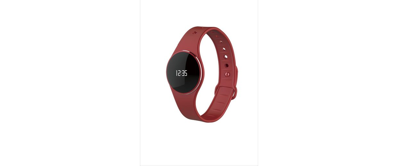 MYKRONOZ Fitnessband »ZeCircle Tracker Uhr rot«