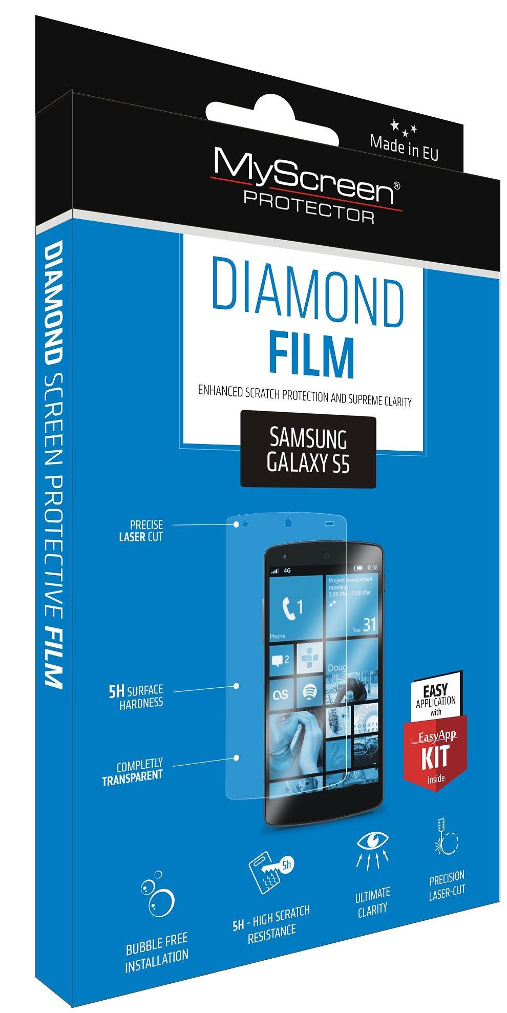 MYSCREEN Schutzfolie »Diamond Film für GS5«