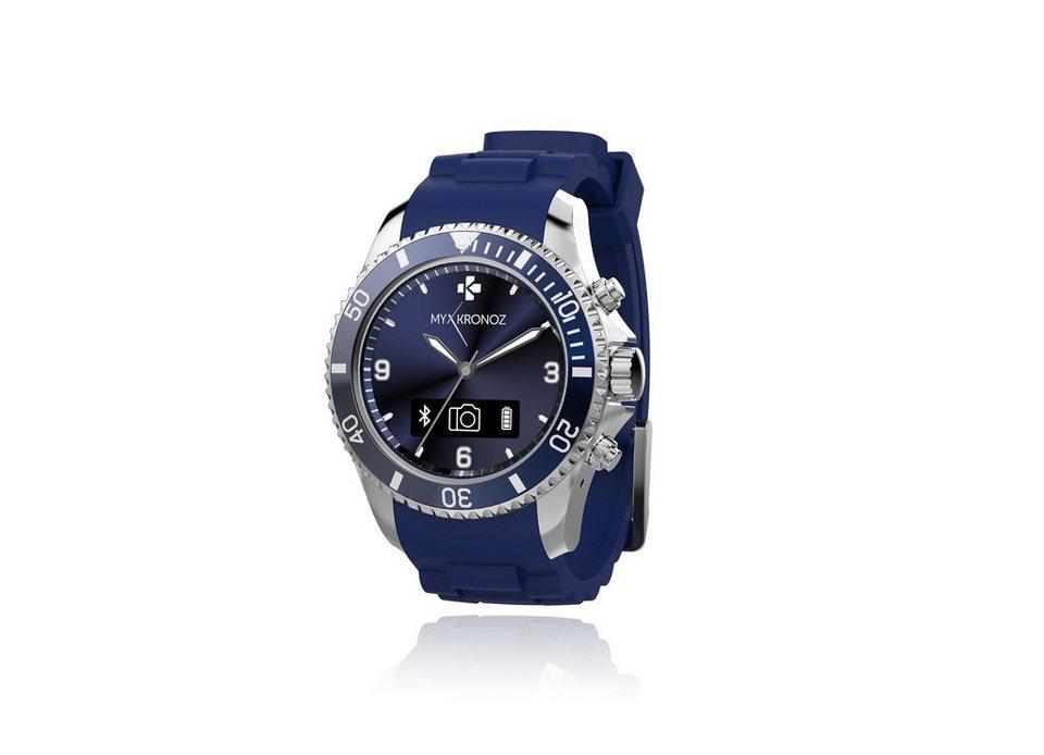 MYKRONOZ Smartwatch »ZeClock blau«