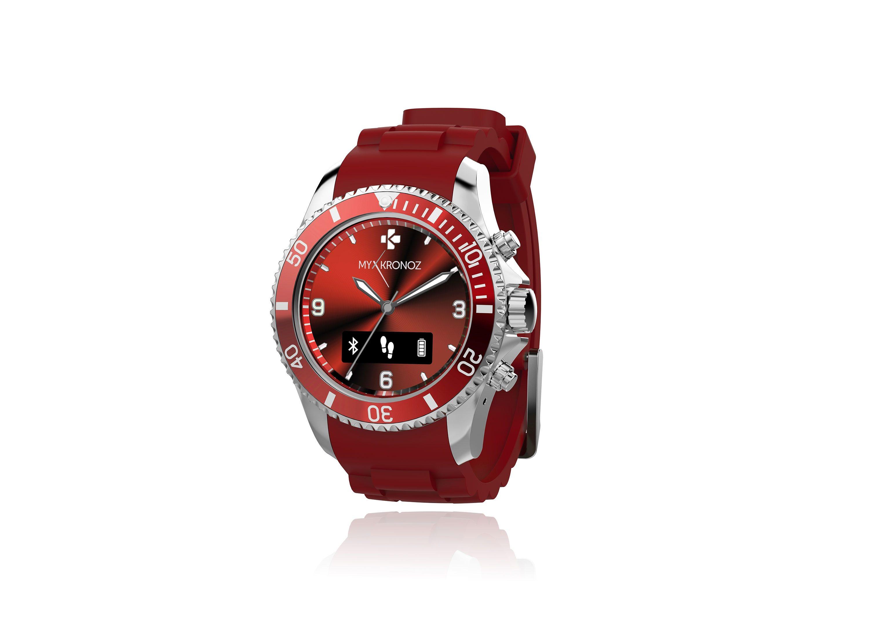 MYKRONOZ Smartwatch »ZeClock rot«