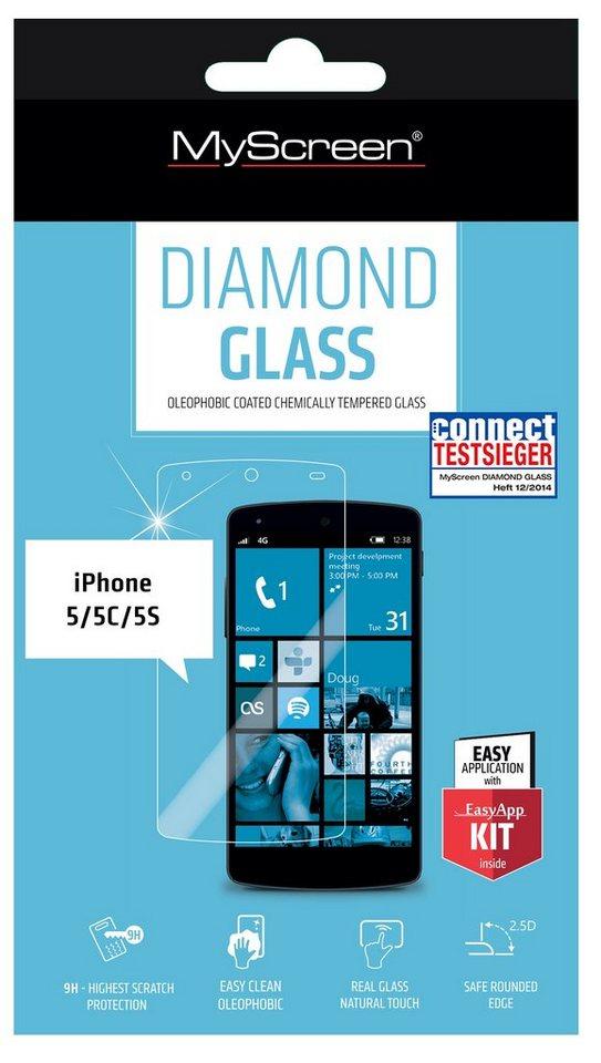 MYSCREEN Schutzglas »Diamond Glass für IPH5/C/S«