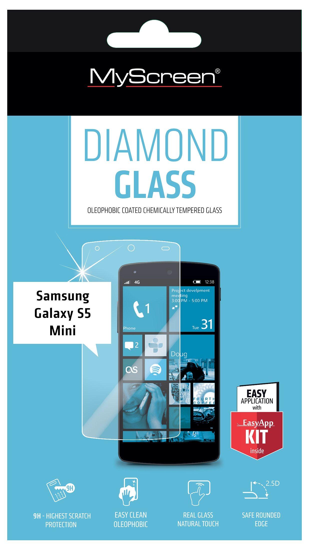 MYSCREEN Schutzglas »Diamond Glass für GS5 Mini«