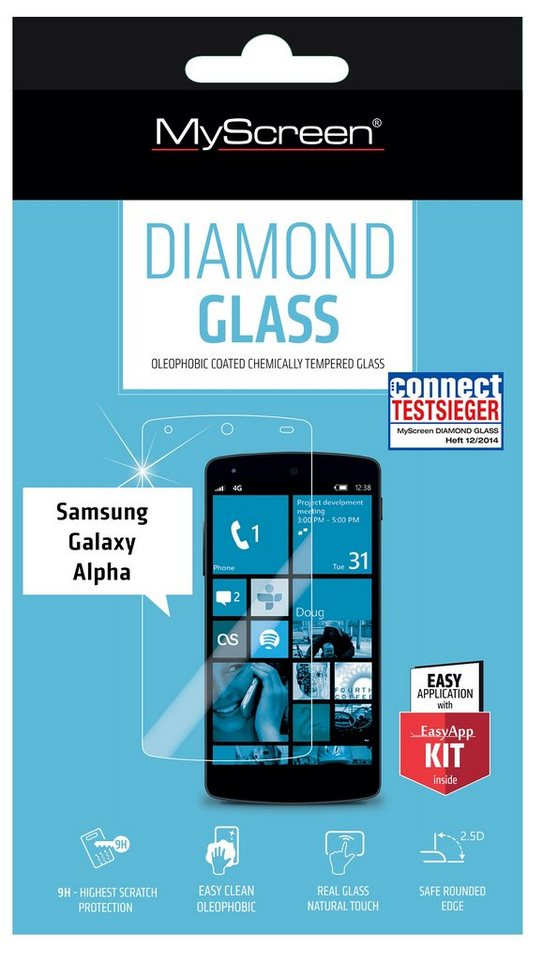 MYSCREEN Schutzglas »Diamond Glass für Galaxy Alpha«