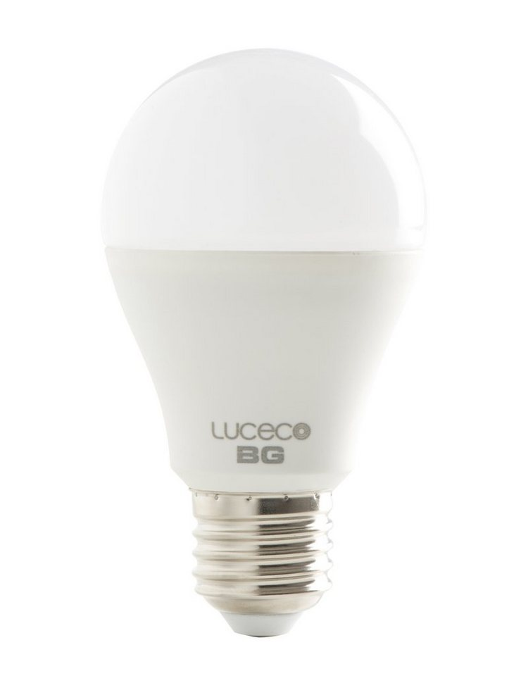 LUCECO LED Leuchtmittel »A60 E27 6,5W 470LM WARM 2700K nicht dimmbar«
