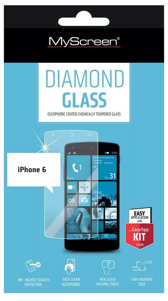 MYSCREEN Schutzglas »Diamond Glass für IPH6«