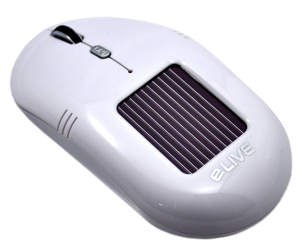 ELIVE Solar Wireless Maus »Light 2.4G Solar Wireless Mouse «
