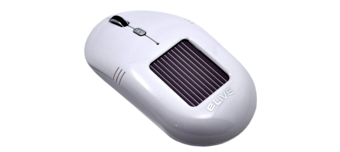 ELIVE Solar Wireless Maus »Light 2.4G Solar Wireless Mouse «