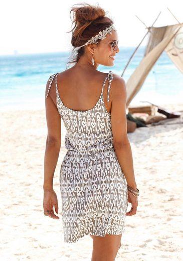 LASCANA Strandkleid bedruckt oder uni