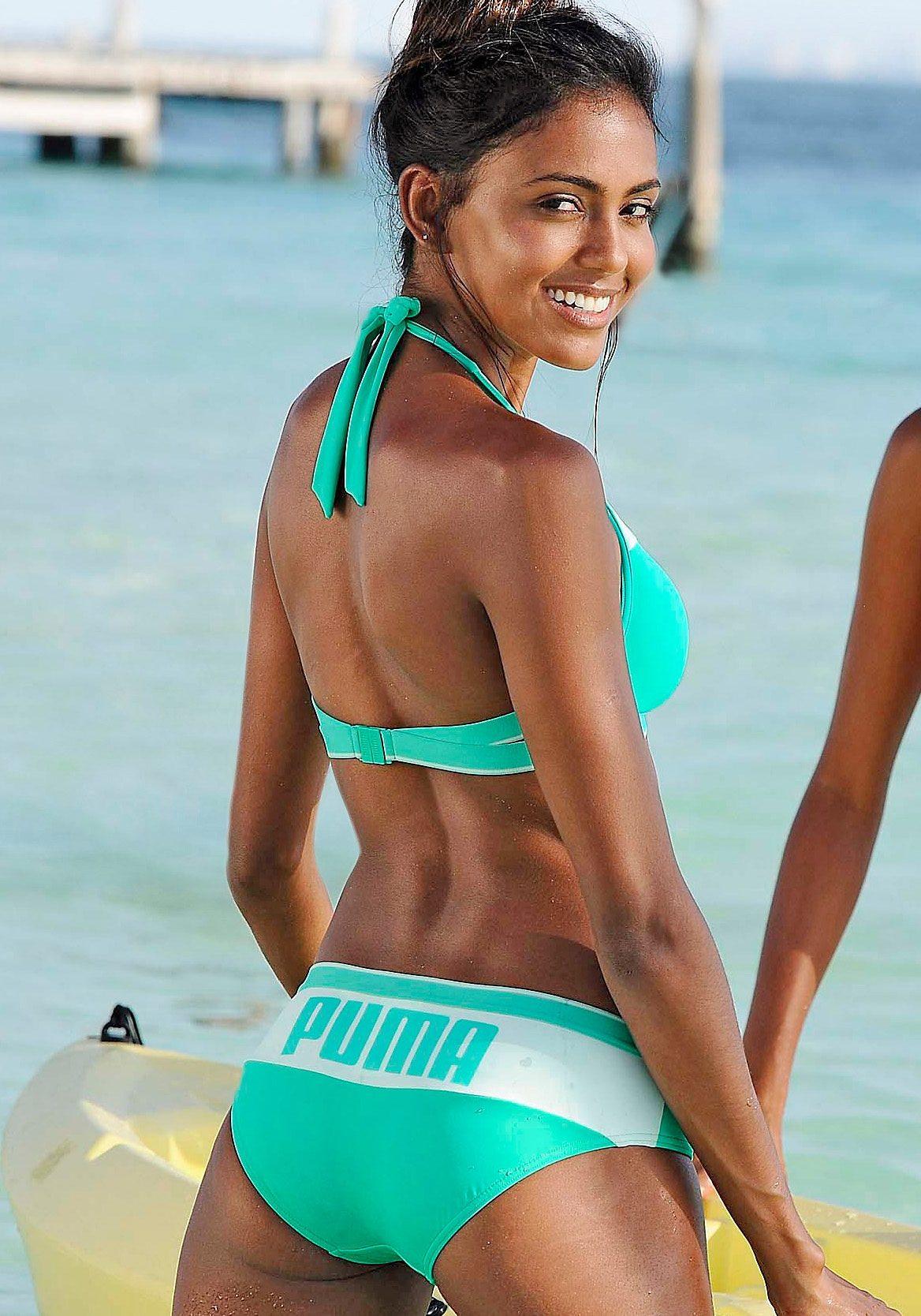 puma bikini blau