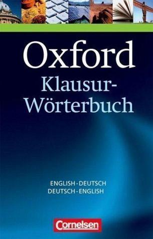 Gebundenes Buch »Oxford Klausur-Wörterbuch, Deutsch-Englisch,...«