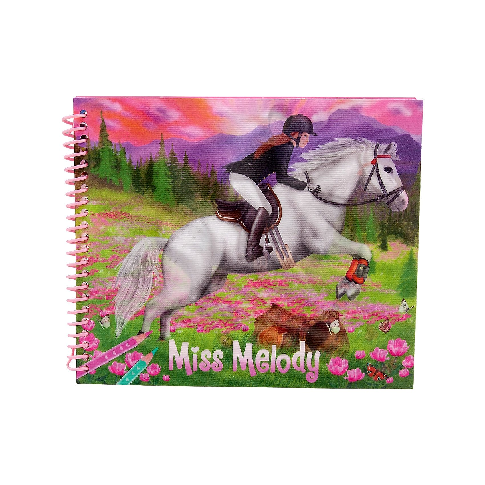 Depesche Malbuch Dress up your Horse Miss Melody