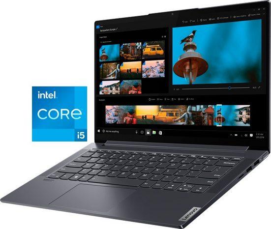 Lenovo Yoga Slim7 14ITL05 Notebook (35,6 cm/14 Zoll, Intel Core i5 1135G7, Iris© Xe Graphics, 512 GB SSD, Lenovo Premium Care 2 Jahre und Yoga Sleeve)