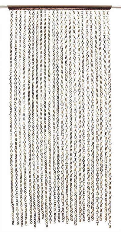 Vorhang »Türvorhang Fadenvorhang Bambus Fliegenvorhang Raumteiler«, Frank Flechtwaren