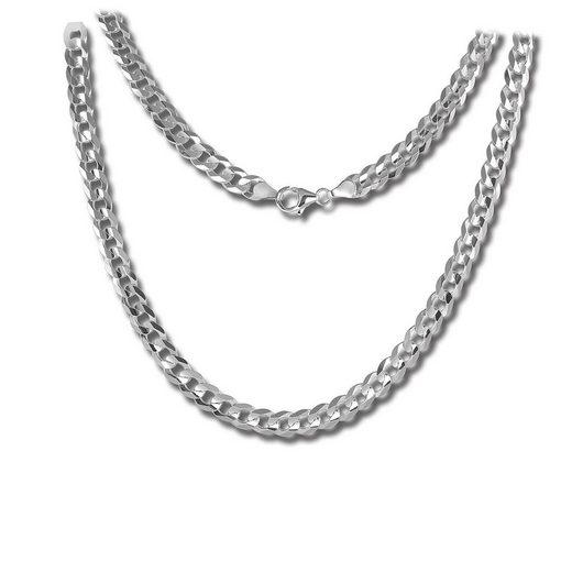 SilberDream Silberkette »SDK28445J SilberDream Halskette silber Schmuck« (Halsketten), Halsketten ca. 45cm, 925 Sterling Silber, Farbe: silber, Made-In Germany