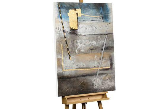 KUNSTLOFT Gemälde »Deserted Landscape«, handgemaltes Bild auf Leinwand