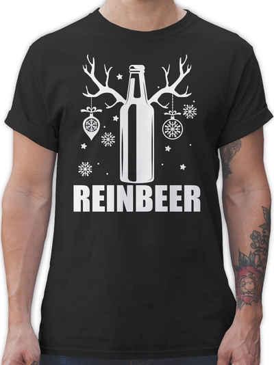 Shirtracer T-Shirt »Reinbeer - weiß - Weihnachten & Silvester - Herren Premium T-Shirt«