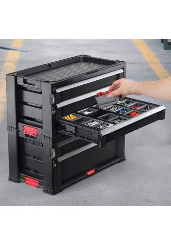 Keter Werkstattwagen abschließbar 5 Schublad...