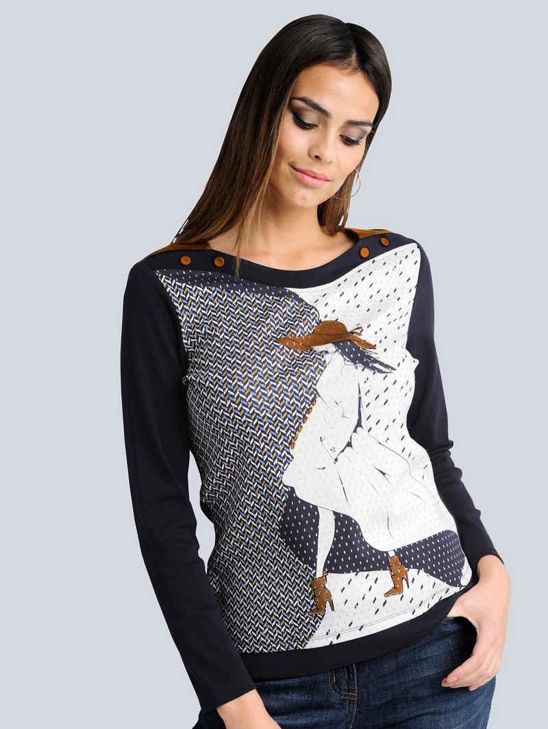 Alba Moda Print-Shirt